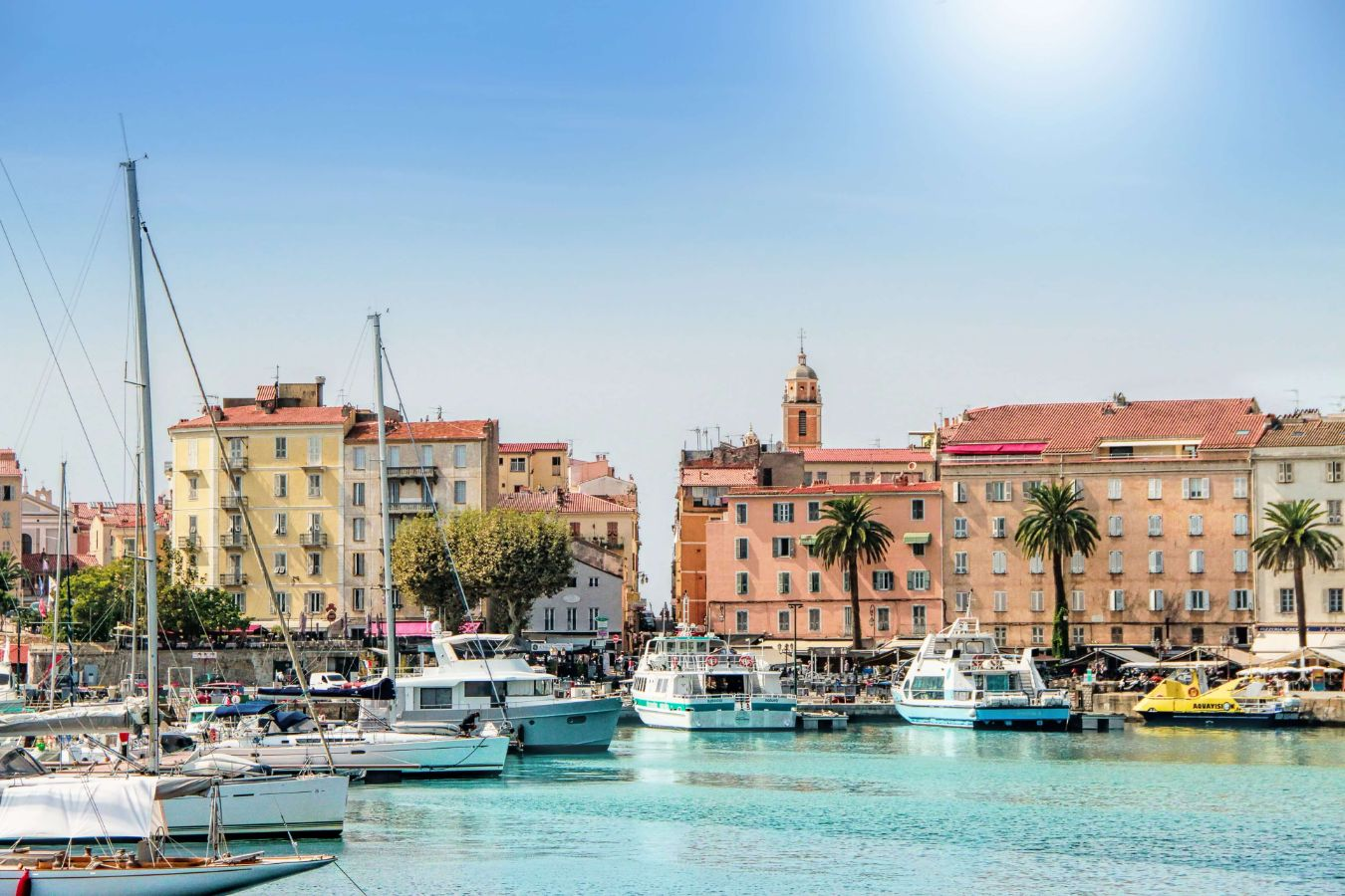 France - Corse - Ajaccio - Photo du port