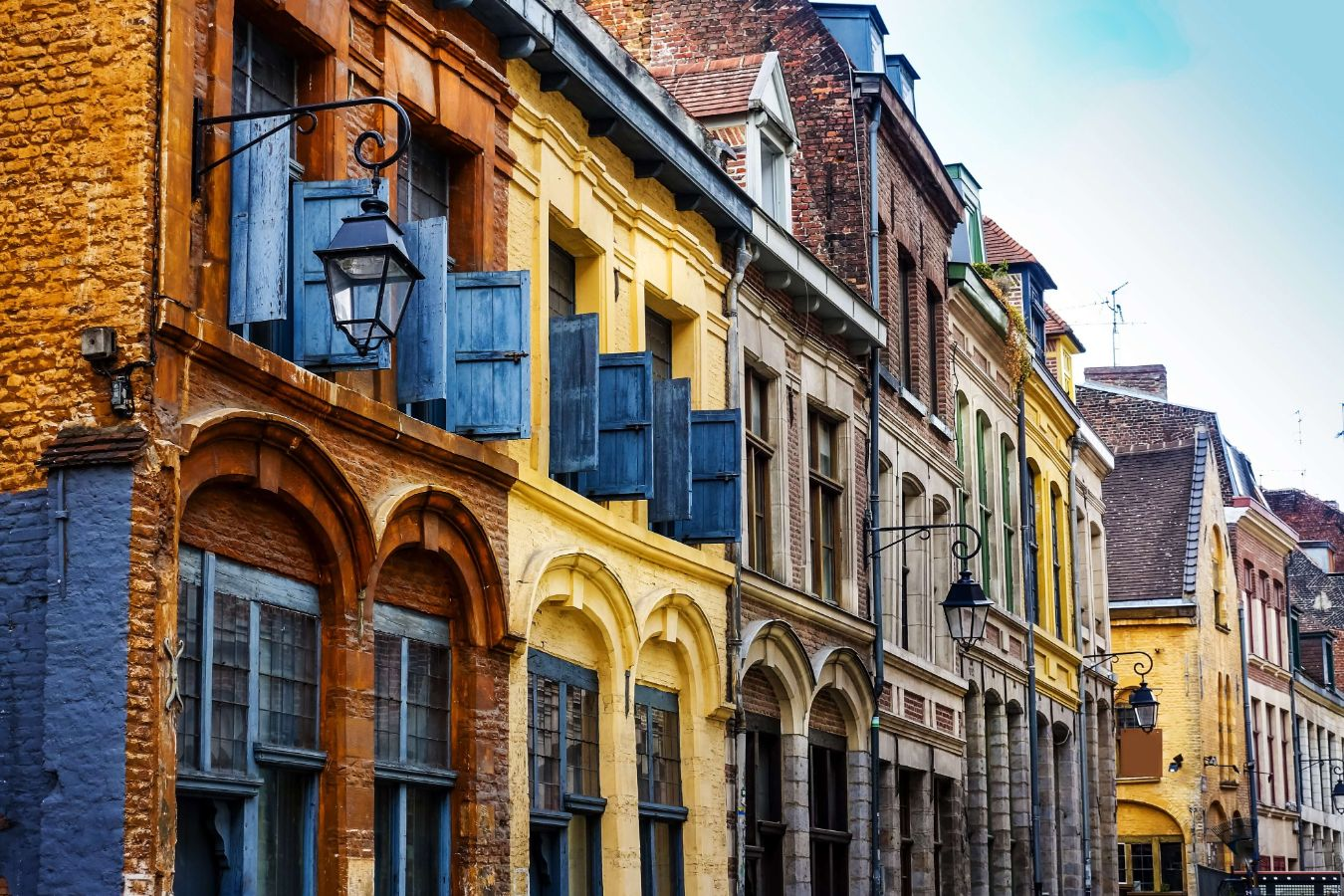 France - Hauts-de-France - Lille - Maisons colorés