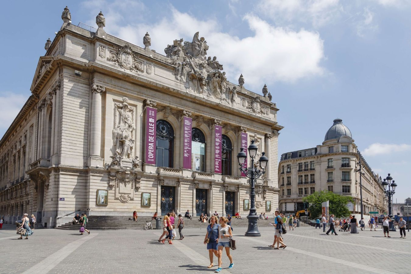 France - Hauts-de-France - Lille - Photo de l'opéra