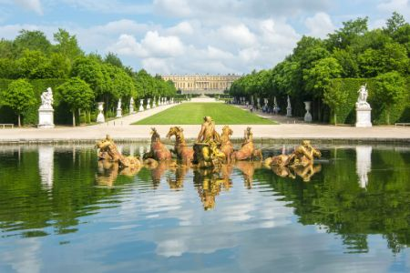 France - Île-de-France - Versailles - Fontaine d'Apollon