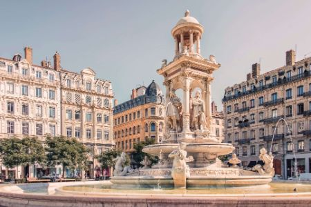 France - Lyon - Fontaine des Jacobins